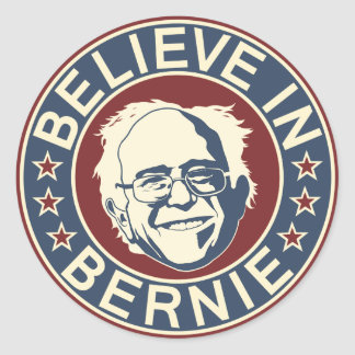 Believe in Bernie Sticker (V2)