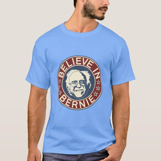 Believe in Bernie T-Shirt (Blue)