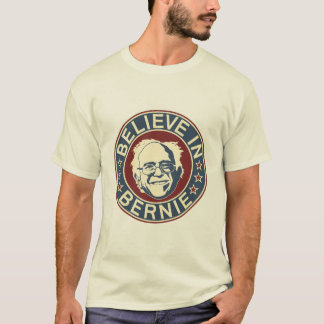 Believe in Bernie T-Shirt (Cream)