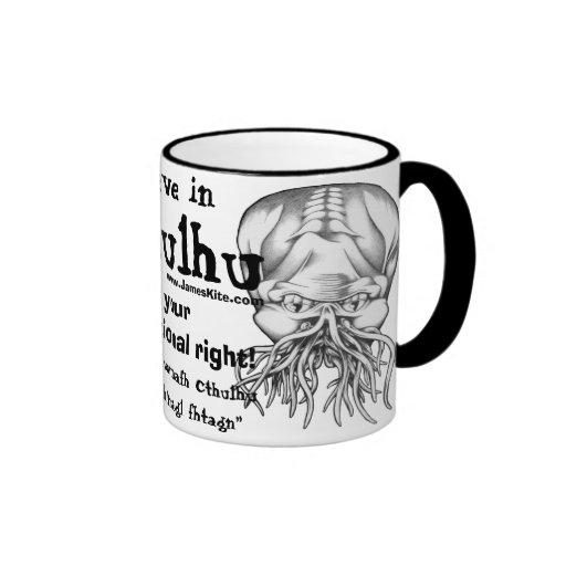 Believe in Cthulhu Mugs