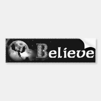 believe in dragons bumper sticker