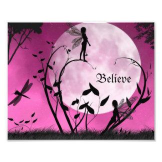 Believe in fairies 10X8 Print