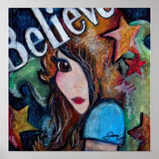 Believe In Fairies Poster