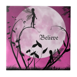 Believe in fairies tile