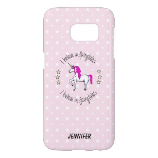 Believe in fairytales Samsung cases
