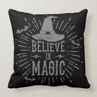 Believe in Magic Halloween Cushion