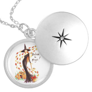 BELIEVE IN MAGIC SILVER PLATED NECKLACE