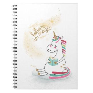 Believe in Magic Spiral Notebook