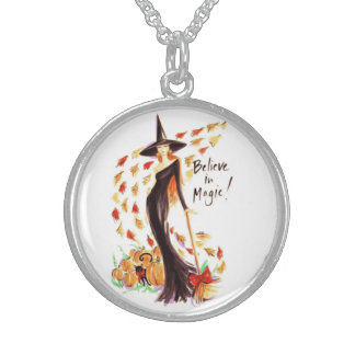 BELIEVE IN MAGIC STERLING SILVER NECKLACE