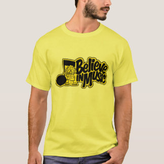 Believe In Music Records and Tapes T-Shirt