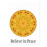 Believe in Peace Postcards