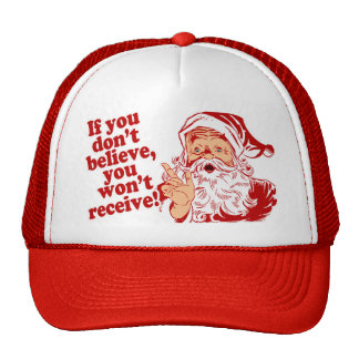 Believe in Santa Cap