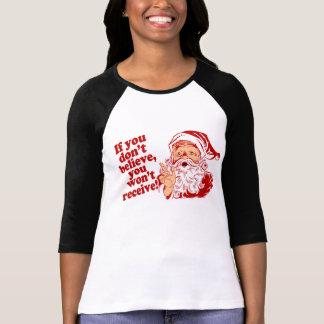 Believe In Santa, Christmas T-Shirt