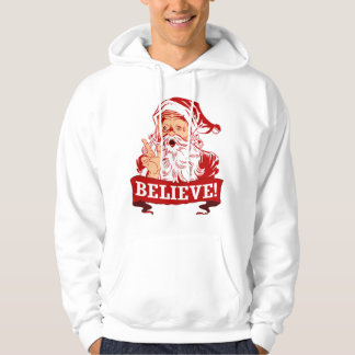 Believe In Santa Claus Hoodie
