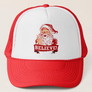 Believe In Santa Claus Trucker Hat