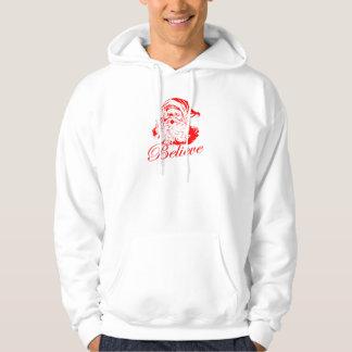 Believe in Santa Hoodie