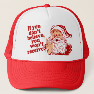 Believe in Santa Trucker Hat
