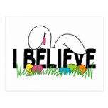 Believe In The Easter Bunny Post Cards