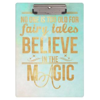 Believe in the Magic Clipboard