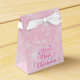 Believe in the Magic of Christmas Favour Box