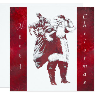 Believe In The Magic Of Santa Clause Card