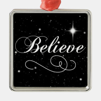 Believe in the Season Christmas Ornament