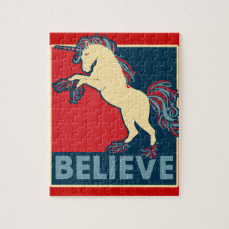 Believe in the Unicorn Jigsaw Puzzle