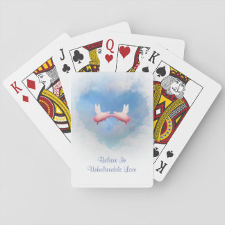 Believe In Unbelievable Love Playing Cards