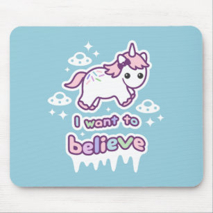 Weird Office Supplies. Supplies Believe In Unicorns And Aliens Mouse Mat  Throughout Weird Office Supplies