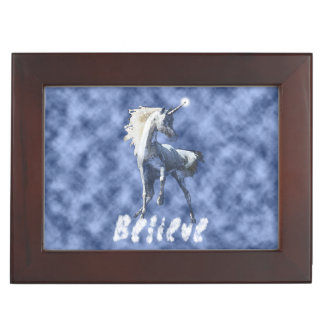 Believe In Unicorns Keepsake Box