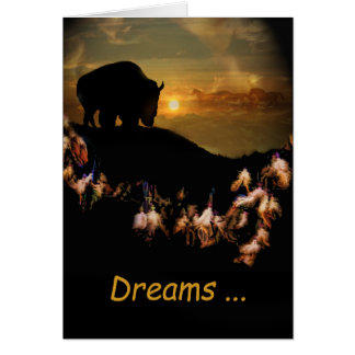 Believe in Your Dreams Spiritual Greeting Card