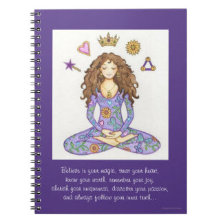 """Believe in your magic..."" Notebook"
