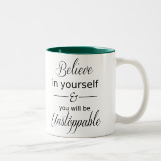 Believe in Yourself | Chic Typography Mug