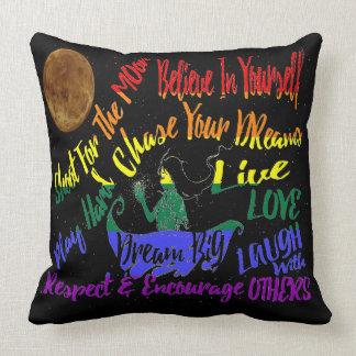 Believe in yourself Dream love big pillow