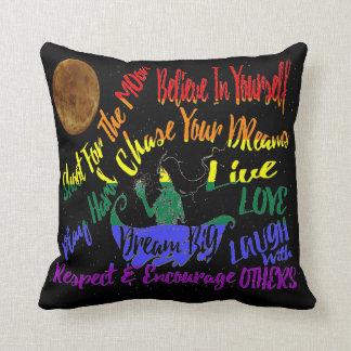 Believe in yourself Dream love pillow