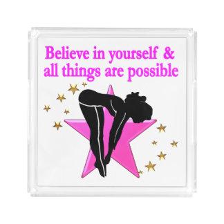 BELIEVE IN YOURSELF GIRLS DIVER DESIGN