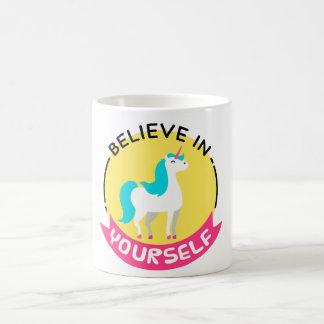 'Believe in Yourself' Unicorn Mug