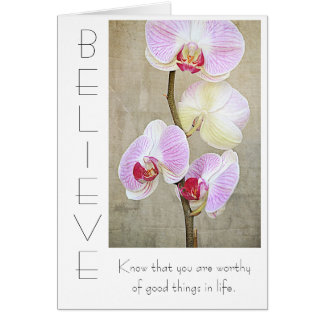 Believe Inspirational Card