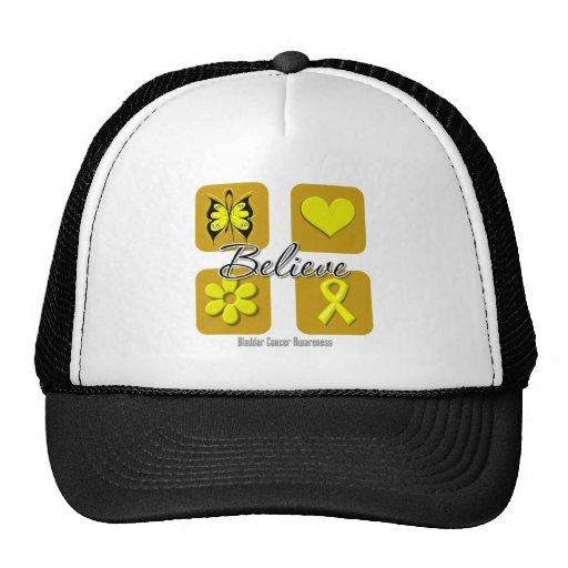 Believe Inspirations Bladder Cancer Trucker Hat