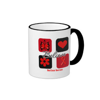 Believe Inspirations Blood Cancer Coffee Mugs
