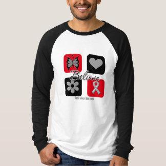 Believe Inspirations Brain Cancer Tee Shirts