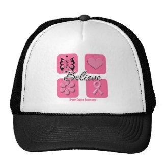 Believe Inspirations Breast Cancer Trucker Hat