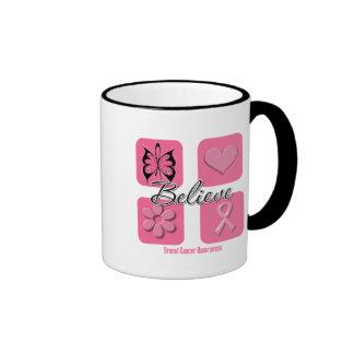 Believe Inspirations Breast Cancer Mug