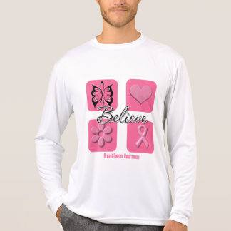 Believe Inspirations Breast Cancer T-shirts