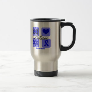 Believe Inspirations Colon Cancer Coffee Mugs