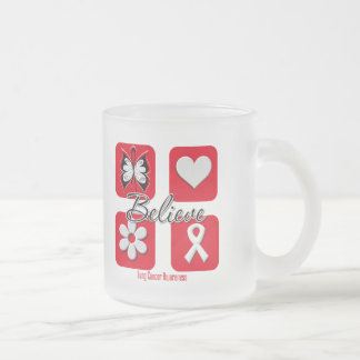 Believe Inspirations Lung Cancer Mug