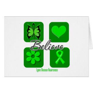 Believe Inspirations Lyme Disease Card
