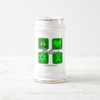 Believe Inspirations Lyme Disease 18 Oz Beer Stein