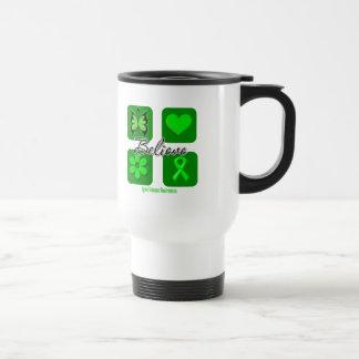 Believe Inspirations Lyme Disease Stainless Steel Travel Mug