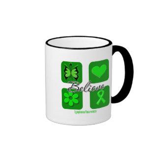 Believe Inspirations Lymphoma Coffee Mugs